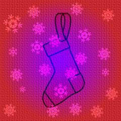 Vector Christmas Socks