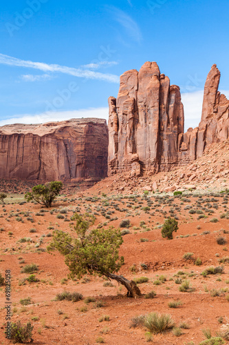 canvas print picture Monument Valley
