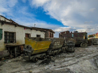 Abandonned mines in Potosi, Bolivia