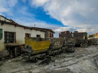Abandonned mines in Potosi, Bolivia