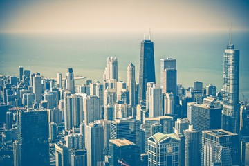 Chicago Skyline Aerial