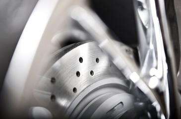 Ventilated Car Brake Disc