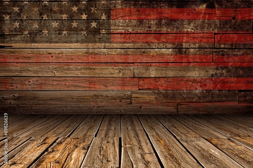 Wooden American Stage