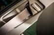Car Seat Belt Closeup