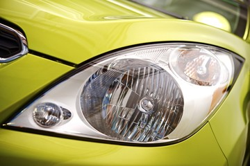 Compact Car Headlight