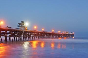 San Clemente Pier at Sunrise