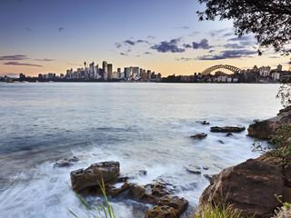 Sydney Cremorne 2 Layer Horiz Sunset