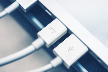 Thunderbolt Display Connection