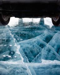 Car on ice