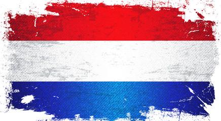 Holland Flag Art Background