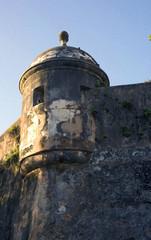 Sentry Box on Old San Juan