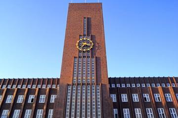 Rathaus von WILHELMSHAVEN ( Ostfriesland )