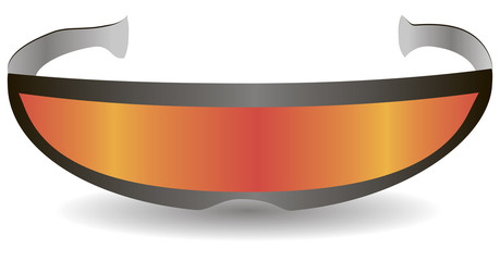 Modern sports sunglasses