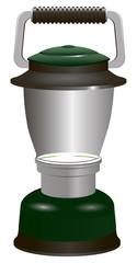 Modern battery lantern