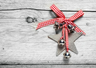 Homemade rustic Christmas decoration