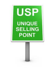 USP sign board