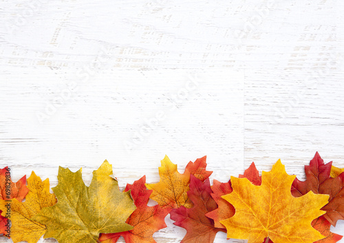 Autumn Thanksgiving Background poster