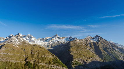 Mountain Range at Matterhorn, Switzerland