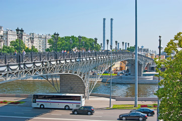 The bridge over Moscow River