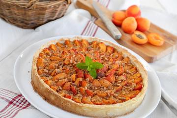 tarte aux abricots (horizontale)