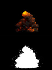 Realistic Bomb Explosion
