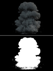 Realistic Explosion Smoke