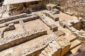 Labyrinth in Knossos Palace