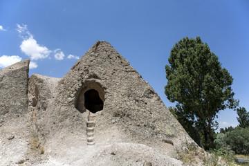 A cave house in Cappadocia, Nevhehir, Turkey