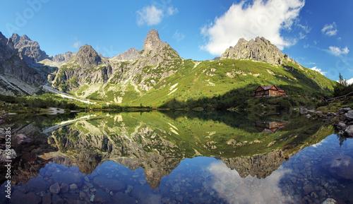 Green Lake in Tatra mountain, Slovakia - 69835285