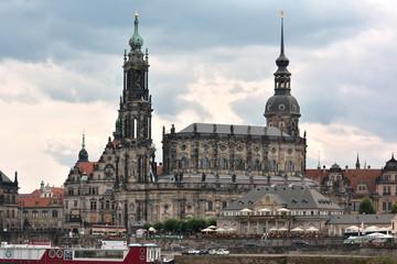 Hofkirche - catholic church in Dresden