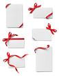 ribbon bow card note chirstmas celebration greeting