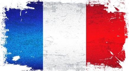 France Flag Art Background