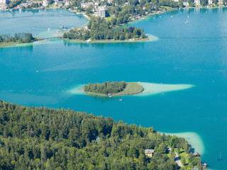 View of Lake Worthersee