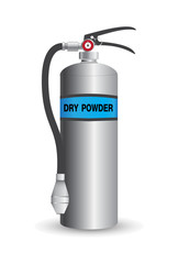 Fire Extinguisher Dry Powder Vector