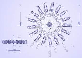 industrial blueprint