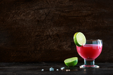 Healthy fruit cocktail