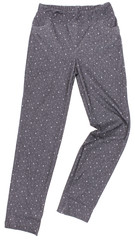 Female sweatpants isolated on white background
