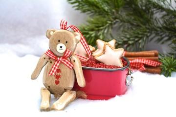 Weihnachtsdekoration - Teddy
