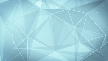 abstract triangle geometrical gray background loop