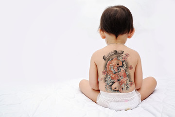 Little baby back - tattoo