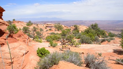 Meas Arch Island in the Sky in Canyonlands National Park Utah