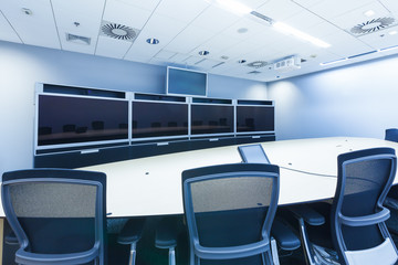 teleconferencing, video conference and telepresence business mee