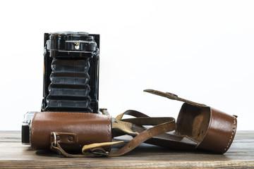 Old photo camera