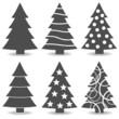 Obrazy na płótnie, fototapety, zdjęcia, fotoobrazy drukowane : Weihnachtsbäume