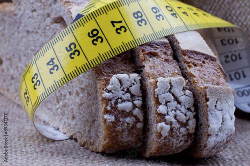 Fotobehang Brood Diet