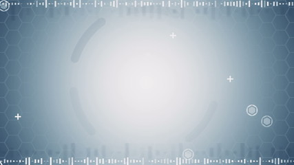 grey abstract techno loopable background