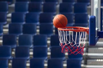 Baloncesto. Lanzamiento fallado