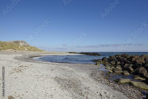 canvas print picture Skagen (Dänemark) - Küste bei Grenen