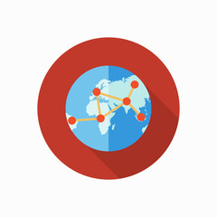 global connect icon illustration