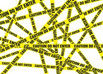 Caution Cordon Tape